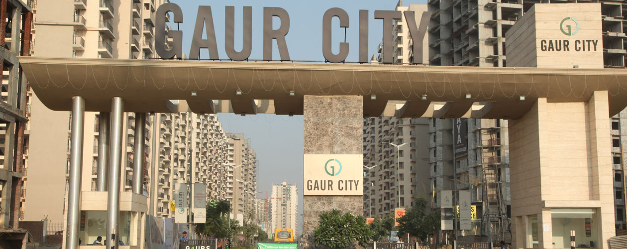 Gaur City Entrance Gate